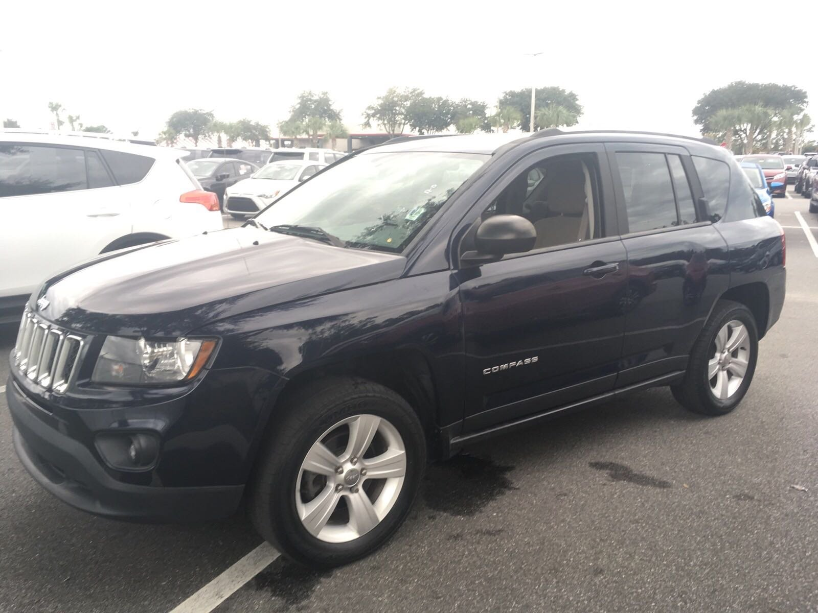 Pre-Owned 2015 Jeep Compass Sport FWD Sport Utility