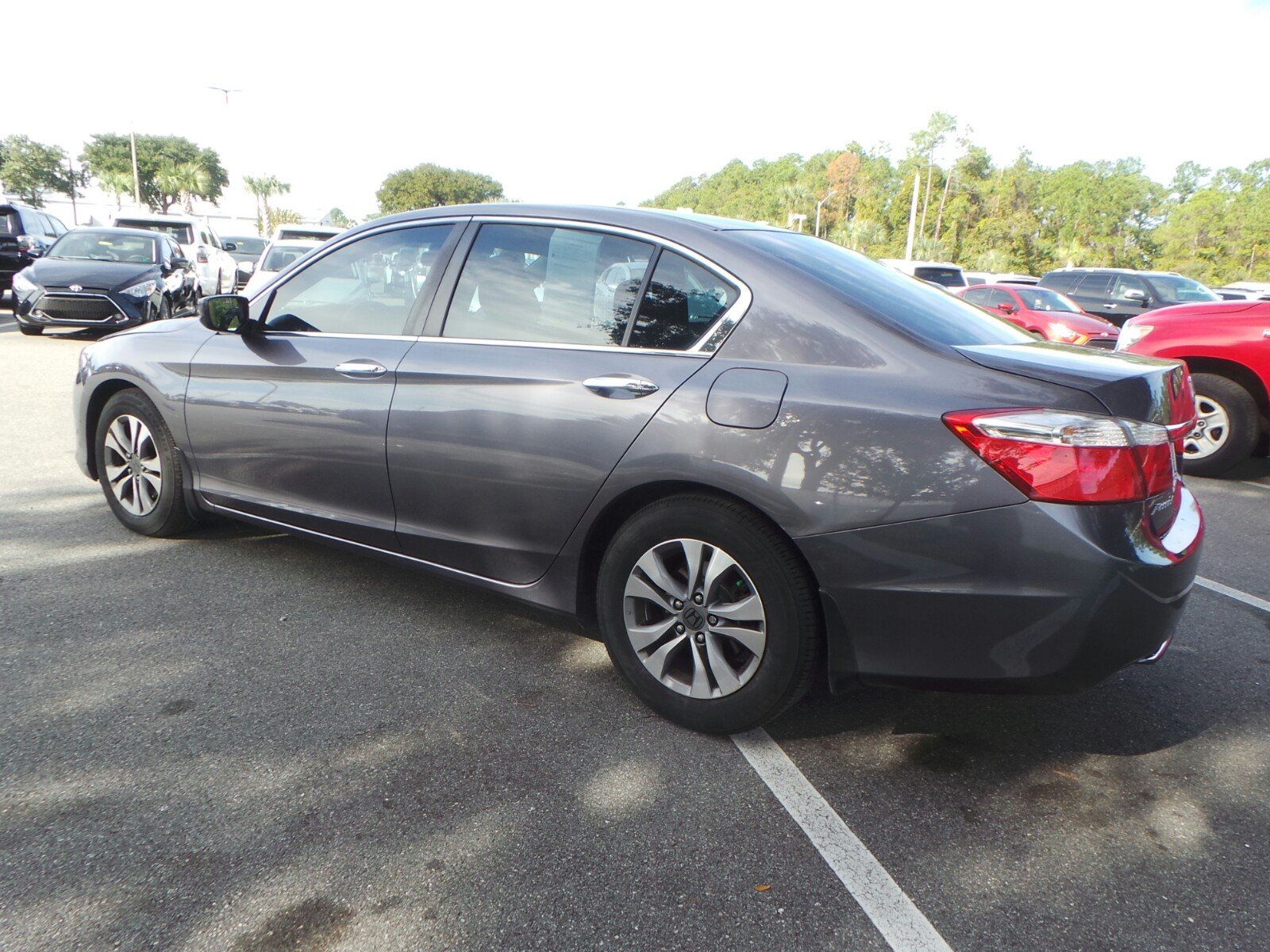 Pre Owned 2014 Honda Accord Sedan LX 4dr Car in Jacksonville A