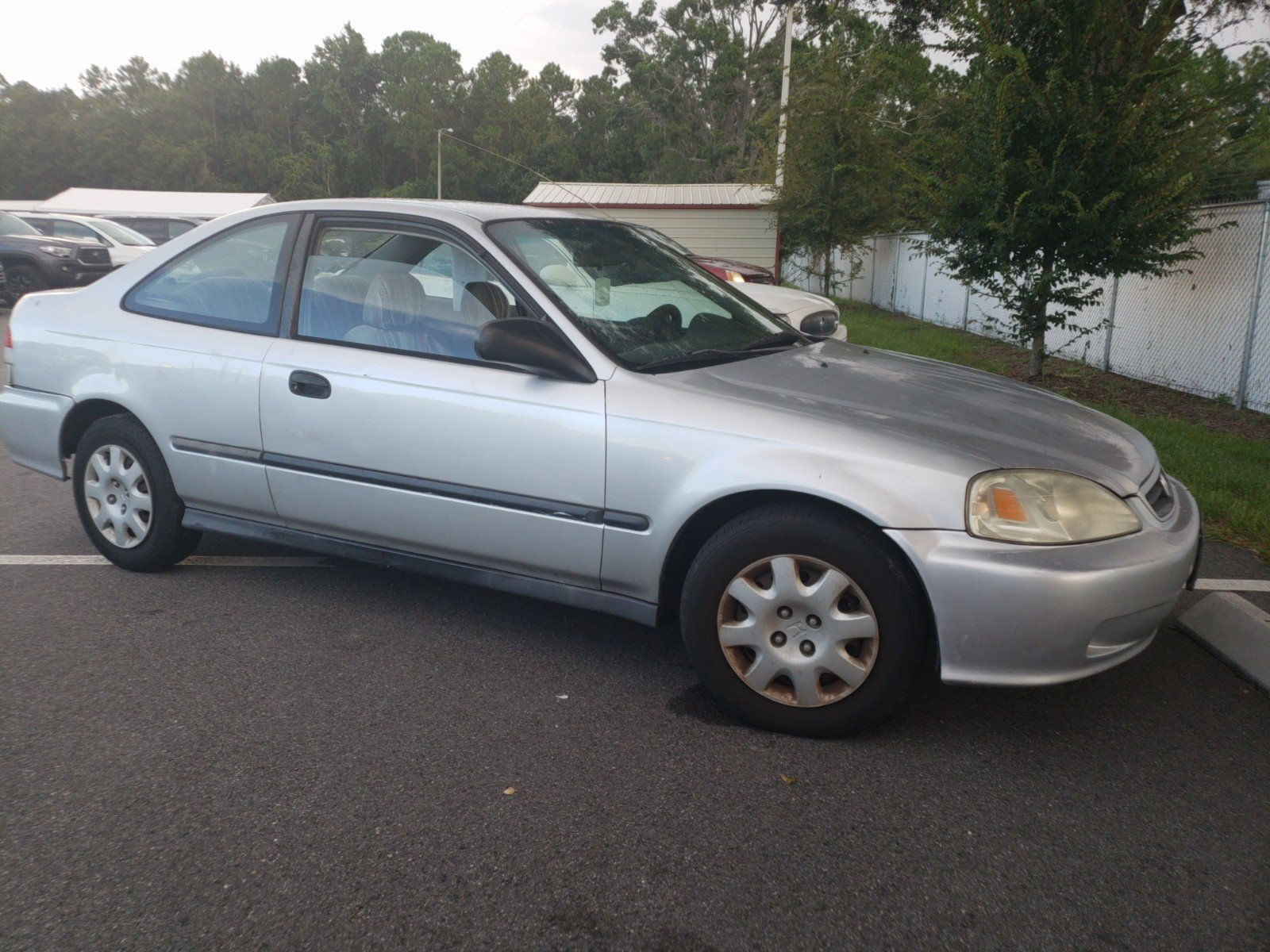 Pre Owned 2000 Honda Civic DX 2dr Car in Jacksonville B