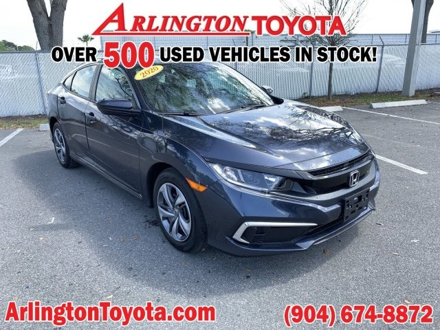 Pre-Owned 2020 Honda Civic LX
