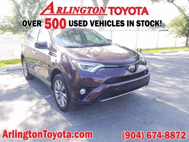 Pre-Owned 2017 Toyota RAV4 Limited FWD 4D Sport Utility