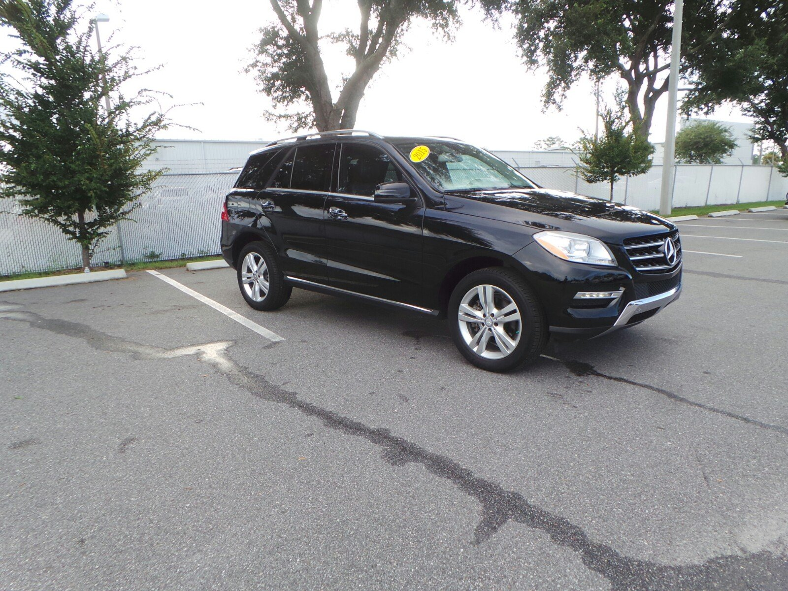 Pre Owned 2015 Mercedes Benz M Class ML 350 Sport Utility in