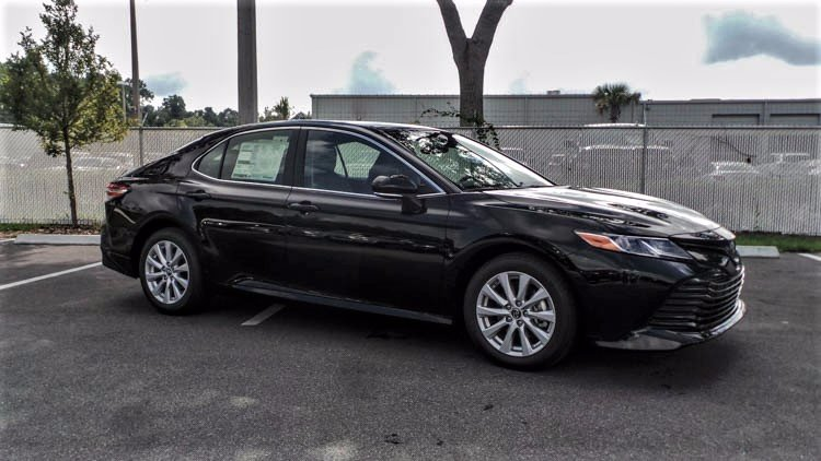 New 2019 Toyota Camry Le 4dr Car In Jacksonville 93013 Arlington