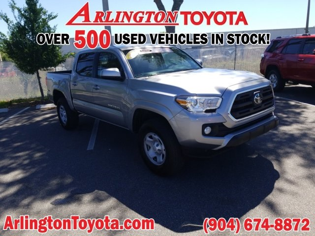 Certified Pre-Owned 2019 Toyota Tacoma SR5 4D Double Cab
