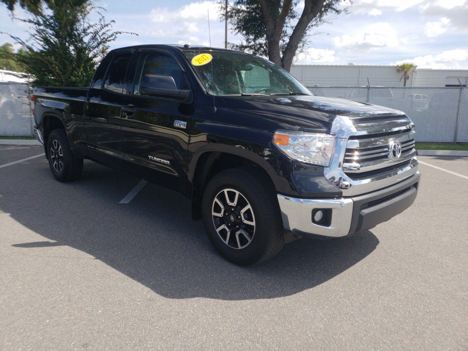 Pre Owned 2017 Toyota Tundra 2wd Sr5 Double Cab In Jacksonville Low Tire Pressure Warning Light