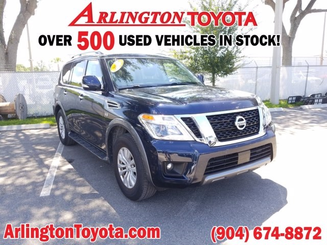 Pre-Owned 2019 Nissan Armada SV RWD 4D Sport Utility