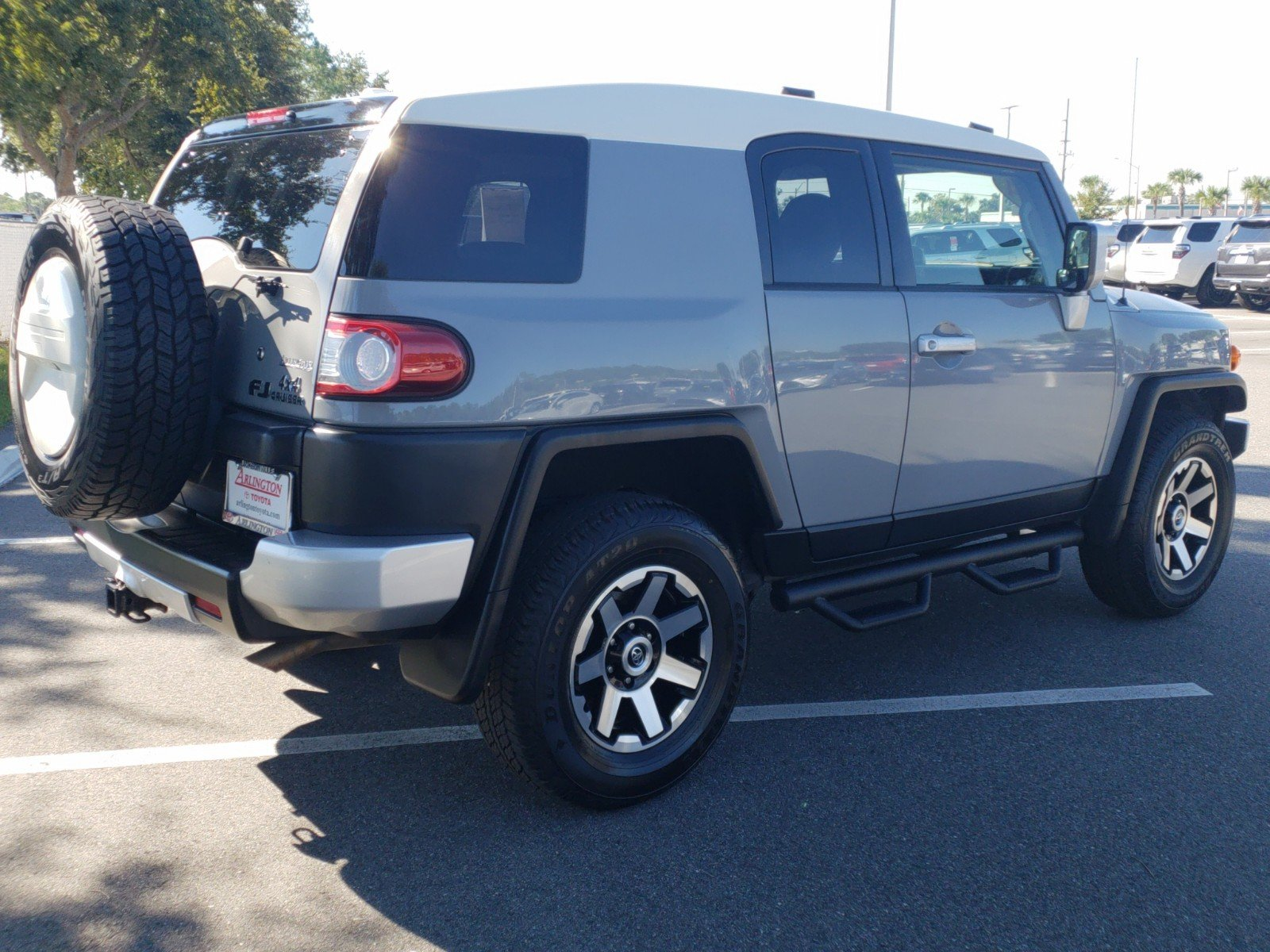 Pre Owned 2014 Toyota Fj Cruiser Base Sport Utility In Jacksonville 2007 Fuel Filter Location T2037xs Arlington