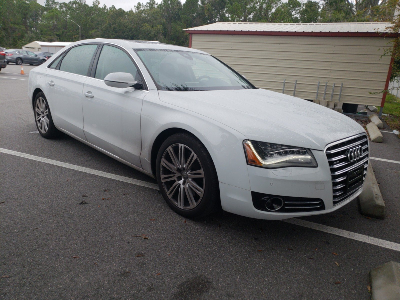 Pre Owned 2014 Audi A8 L 4 0T 4dr Car in Jacksonville A
