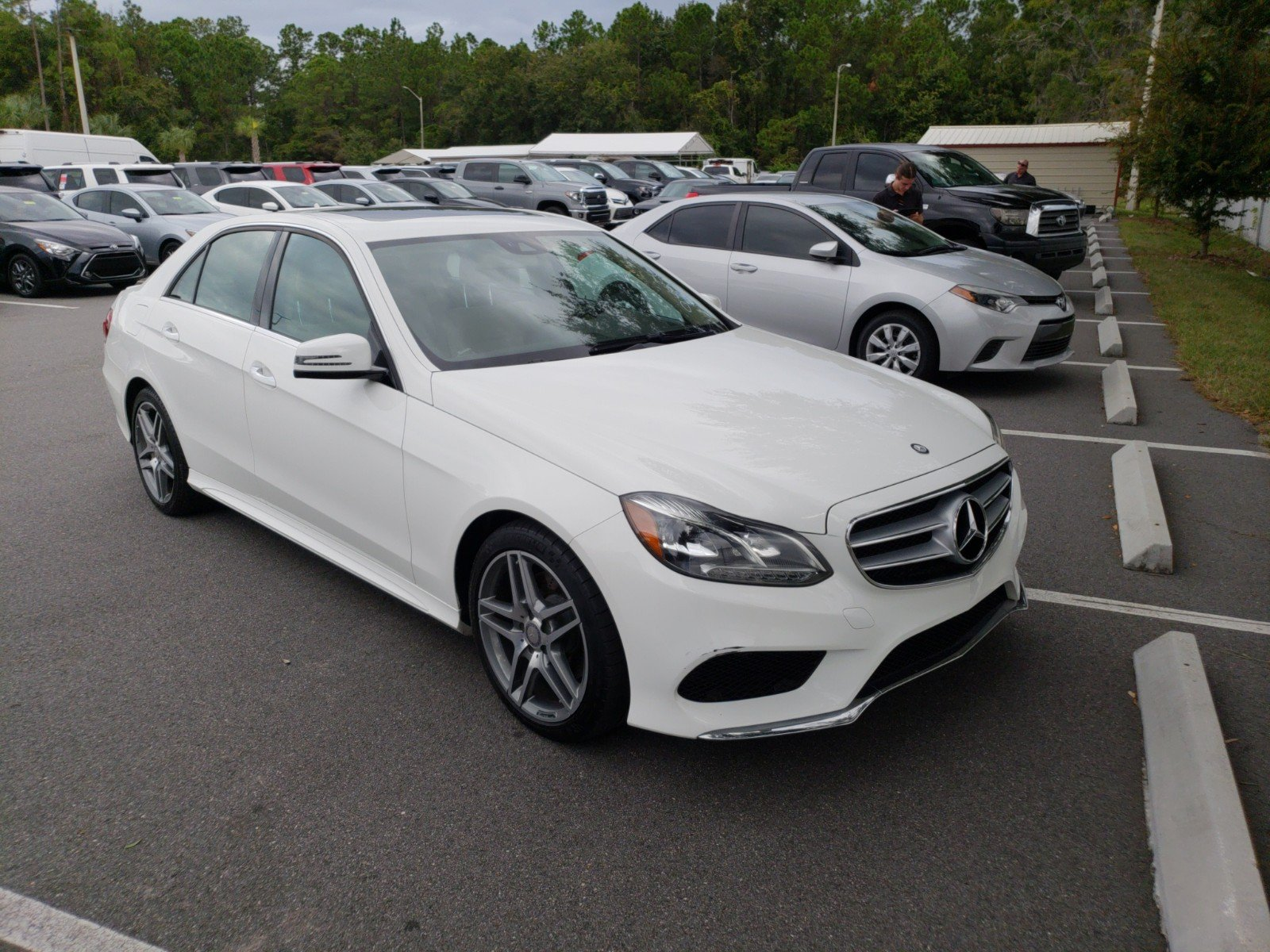 Pre Owned 2015 Mercedes Benz E Class E 350 4dr Car in Jacksonville