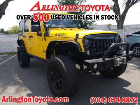 Pre-Owned 2015 Jeep Wrangler Unlimited Willys Wheeler
